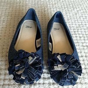 3/$35🌺Gap Chambray Ballerina Flats